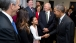 President Barack Obama Greets Kenmore Middle School Eighth-Grader Sofia Rios