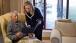 Secretary Clinton Visits With Nelson Mandela