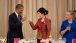 President Obama And Prime Minister Shinawatra Toast