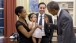 President Obama greets one-year-old Alya Dorelien Bitar