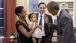 President Obama greets one-year-old Alya Dorelien Bitar