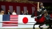 President Obama Watches Archers On Horseback At The Meiji Shrine