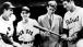Senator John F. Kennedy meets with Ted Williams and Eddie Pellagrini