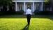 President Barack Obama walks through the Rose Garden
