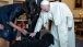Pope Francis meets Bo and Sunny at the White House