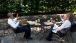 President Barack Obama has lunch with Vice President Joe Biden on the Oval Office patio, June 28, 2012