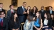 President Barack Obama talks college affordability with students in the Blue Room, June 21, 2012