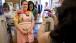 Michelle Obama at Mom's Apple Pie Co. in Occoquan, Va., June 7, 2012
