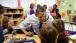 President Barack Obama visits a pre-kindergarten classroom