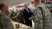 Vice President Biden Greets Troops at Breakfast