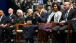 President Barack Obama, First Lady Michelle Obama, and Mark Kelly