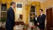 President Barack Obama Working Dinner with President Hu Jintao of China