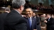 President Barack Obama Greets Sen. Tom Coburn