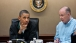 President Obama Makes a Point During Meeting in the Situation Room