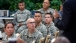 President Obama Talks with Soldiers at Fort Bliss