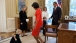 Curtsies in the Oval Office