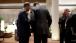 President Obama Talks with President Myung-bak of South Korea