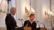 Vice President Joe Biden Makes a Joint Statement with Finnish President Tarja Halonen