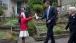 President Obama Meets Mieraye Redmond