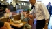 President Obama Greets A Man At Canter's Delicatessen
