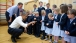 President Obama Visits Enniskillen Primary School
