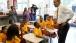 President Obama Talks To Children From Lenora Academy