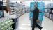 President Obama Walks Through The Aisles At Walmart