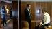 President Barack Obama Talks with Senior Advisor David Plouffe