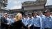 Dr. Jill Biden Greets Sailors At The USS Ronald Reagan