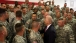 Shaking Hands with U.S. Army Troops in Kosovo
