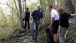President Barack Obama and First Lady Michelle Obama hiking the Blue Ridge Parkway