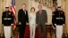 President George W. Bush and First Lady Laura Bush Welcome Prime Minister Tony Blair