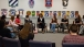 First Lady Michelle Obama Participates In A Roundtable Discussion