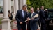 Taoiseach Kenny Presents President Obama with a Hurling Stick