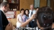 Vice President Joe Biden takes photo with family in snack shop, Bejing