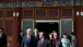 Vice President Joe Biden Leaves the Purple Light Pavilion, Beijing