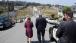 Secretary LaHood Tours the Gas Pipeline Explosion Neighborhood