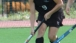 Kristin Ward Dribbling the Field Hockey Ball