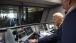 "Vice President Joe Biden at the Controls of Amtrak's New ""Cities Sprinter"""