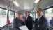 Secretary LaHood Tours a Hydrogen Fuel Cell Powered Bus