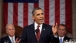 President Barack Obama Delivers The State Of The Union Address In The House Chamber