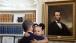 President Obama Holds Arianna Holmes