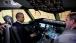 President Barack Obama Sits In The Cockpit Of A 787 Dreamliner