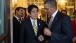 President Obama Talks with Prime Minister Abe
