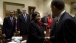 President Barack Obama greets Savannah Mayor Edna B. Jackson