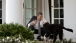 President Barack Obama Pets Bo