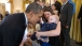 President Obama plays with 5 month-old Vann Carroll