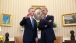 President Obama talks with NATO Secretary General Stoltenberg