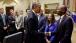 President Barack Obama Greets Participants