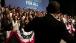 President Obama Walks onto the Stage